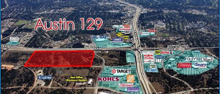 Austin 129 Siteplan